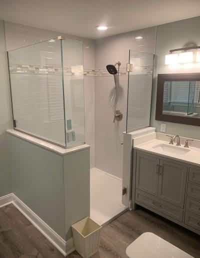 Custom Shower Remodel