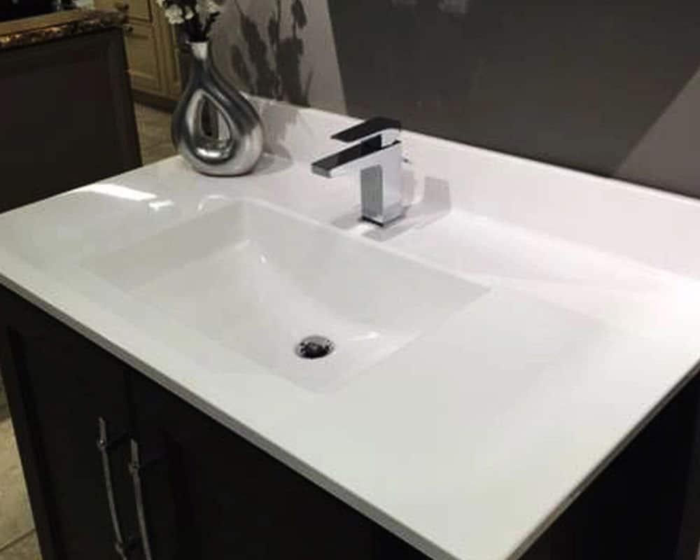 Bathroom Sink Surface